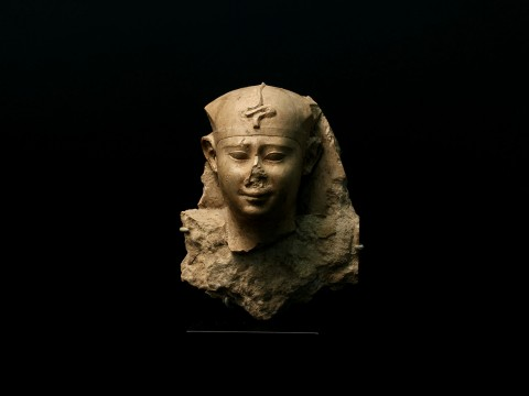 Egyptian Sculptor's Model of Nectanebo I