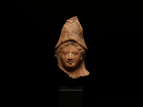 Terracotta Head of Athena