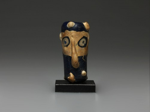 Carthaginian Janiform Glass Head Bead