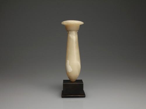 Egyptian Alabaster Mirror Handle