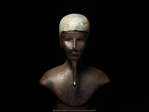 Egyptian 'Egyptian-Blue' Skullcap