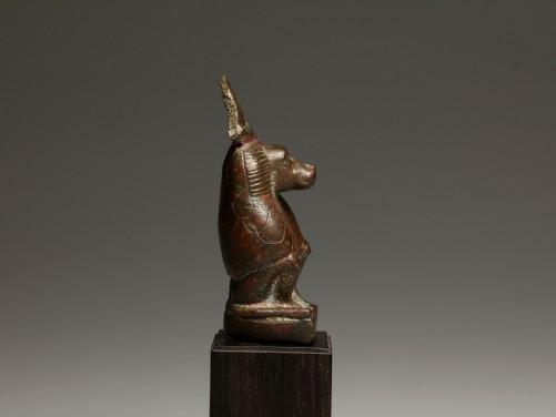 Egyptian Bronze Baboon