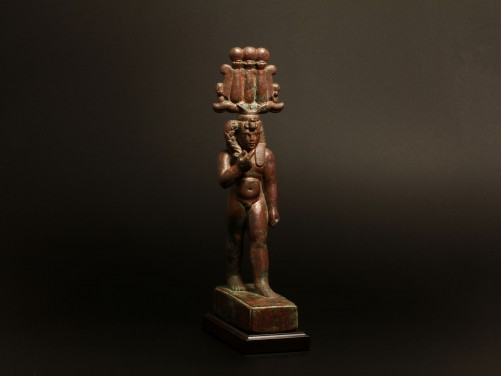 Egyptian Bronze Harpocrates