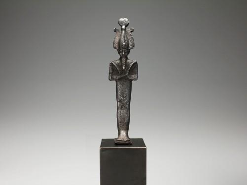 Egyptian Silver Osiris Figure