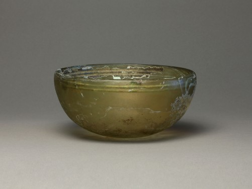 Greek Glass Bowl