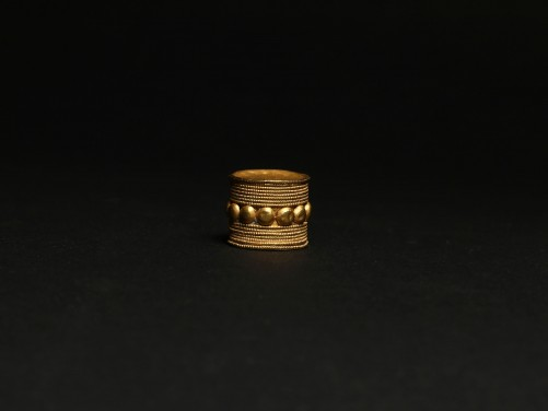 East Greek Gold Bead