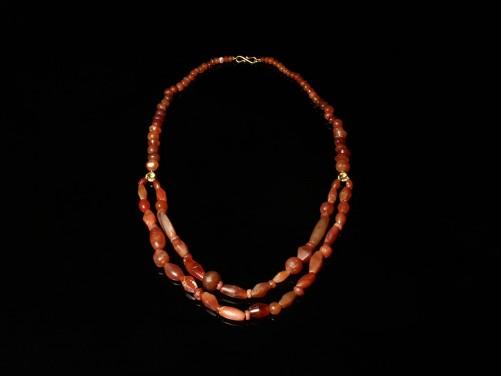 Near Eastern Carnelian Bead Necklace