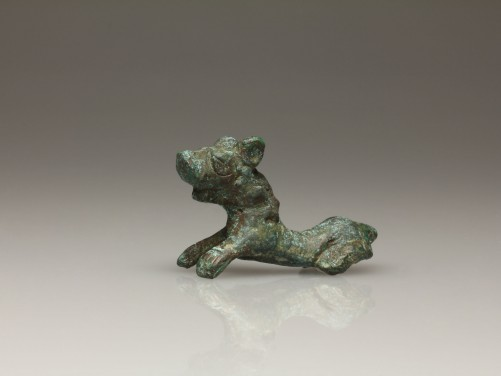 Roman Bronze Feline