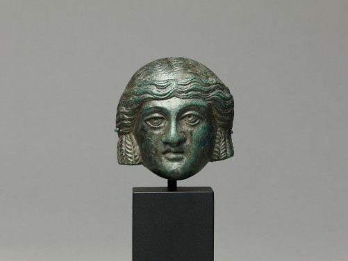 Roman Bronze Theater Mask
