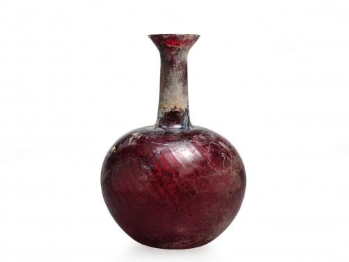 Roman Glass Flask
