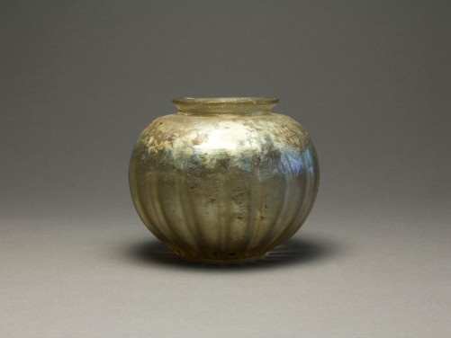 Roman Ribbed Glass Bowl