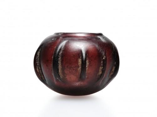 Roman Ribbed Glass Bowl
