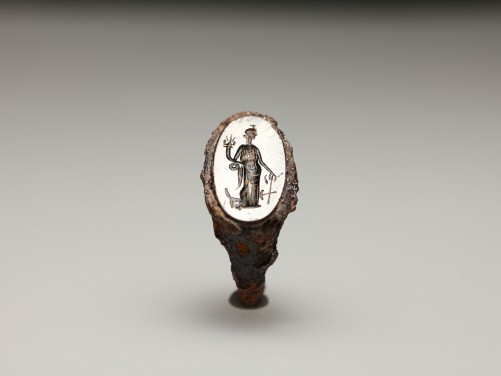 Roman Finger Ring with Fortuna