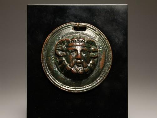 Roman Roundel of Zeus Ammon