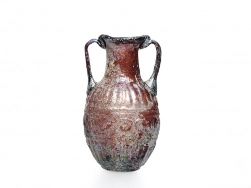Roman Translucent Glass Flask