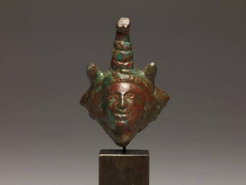 Roman-Egypt Bronze Head of Alexander