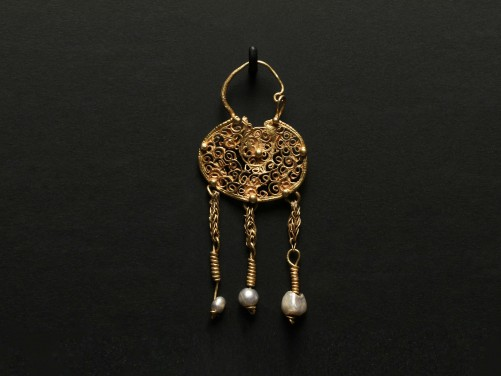 Byzantine Gold Earring