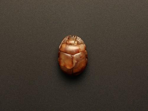 Egyptian Agate Scarab for Seti I