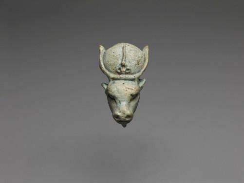 Egyptian Apis Bull Head Amulet
