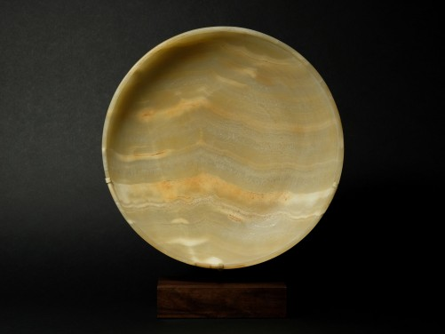 Egyptian Banded Alabaster Dish
