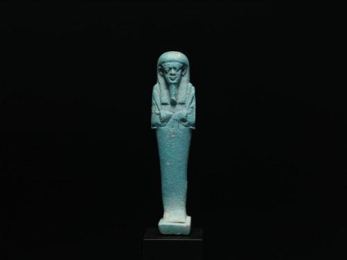 Egyptian Blue Frit Shabti