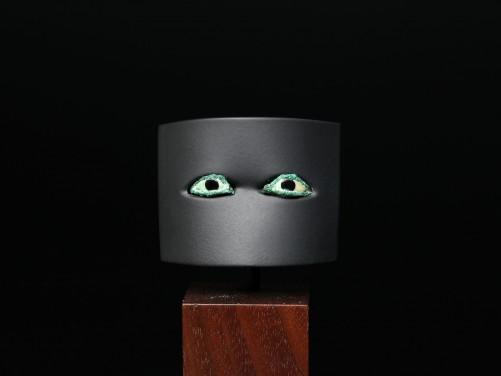 Egyptian Bronze Eye Inlays