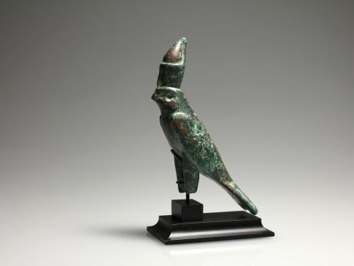 Egyptian Bronze Horus Falcon