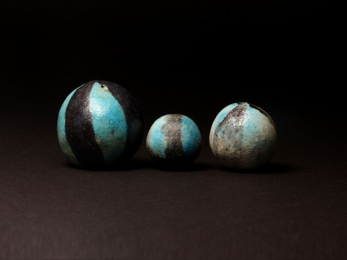 Egyptian Faience Ball Beads