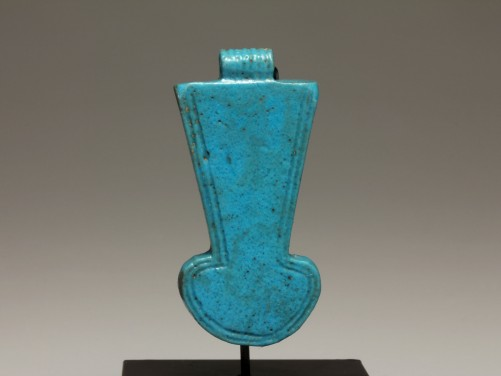 Egyptian Faience Menat Amulet