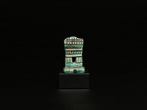 Egyptian Steatite Miniature Shrine