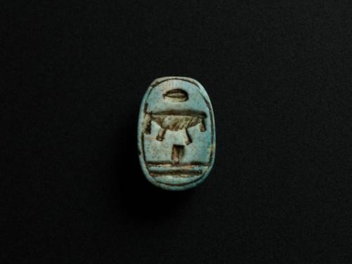 Egyptian Faience Scarab