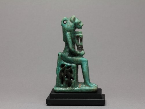 Egyptian Faience Sekhmet Amulet