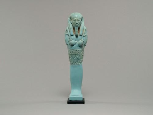 Egyptian Faience Shabti of Tius