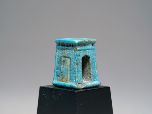 Egyptian Faience Shrine Amulet