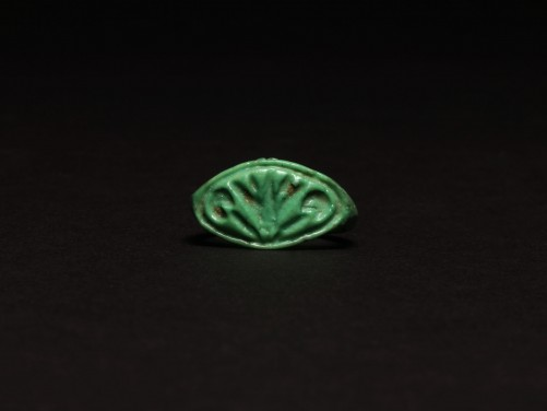 Egyptian Floral Finger Ring