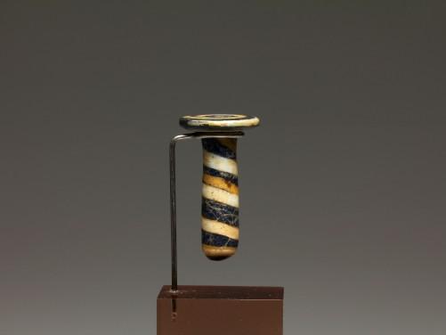 Egyptian Glass Ear Plug