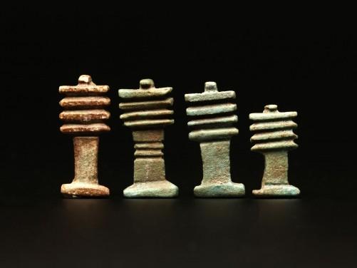 Egyptian Group of Djed Pillars