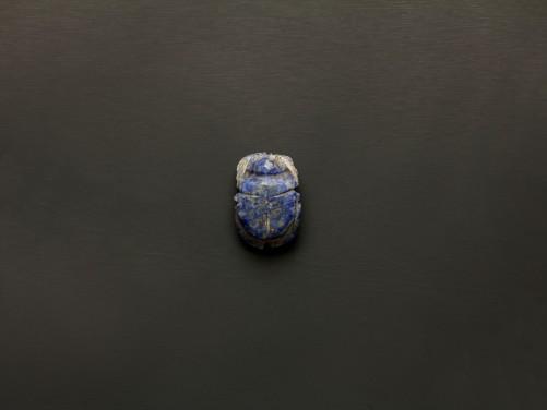 Egyptian Lapis Lazuli Scarab