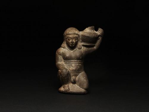 Egyptian Loutrophoros Figure