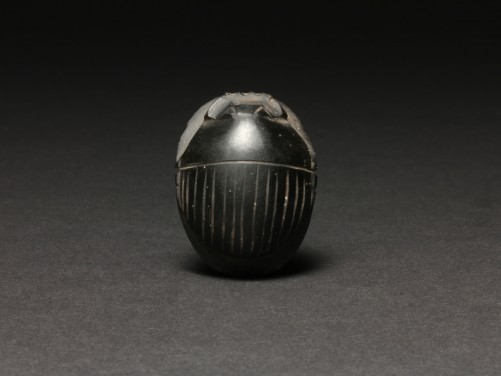 Egyptian Obsidian Scarab