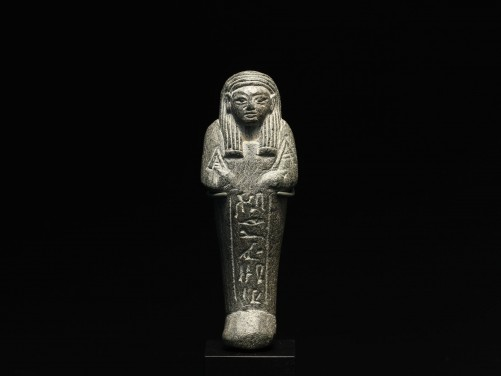 Egyptian Serpentine Shabti for Tamy
