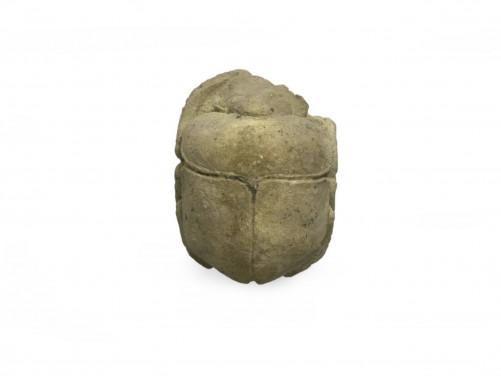 Egyptian Stone Heart Scarab