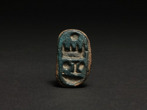 Egyptian Thutmose III Button Scaraboid