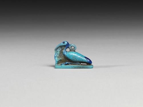 Egyptian Turquoise Ibis Amulet