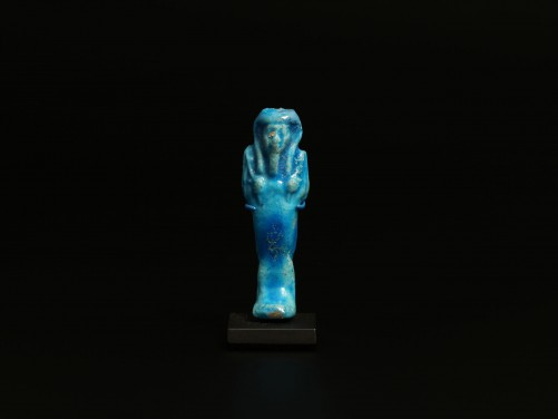 Egyptian Turquoise Faience Shabti