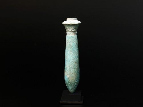 Egyptian Wadj Papyrus Column