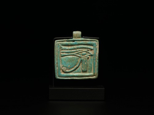 Egyptian Wedjat-Eye Plaque Amulet