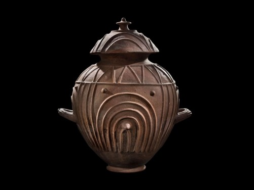 Etruscan Terracotta Cinerary Urn