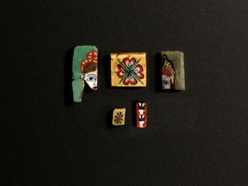 Group of Egyptian Mosaic Inlays