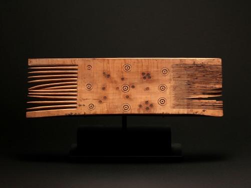 Large Coptic Wood Comb